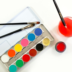 Face/Body Paints and Inks | Alcohol-Activated Palettes, Creme Paints