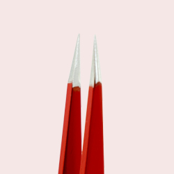 Rubis Pointed Tweezers