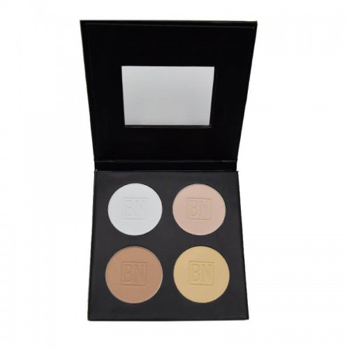Ben Nye MediaPro HD Powder Palette - 4 colour