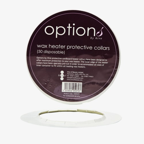 Hive Protective Collar Rings for Wax Heater