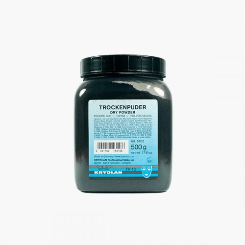 Kryolan Dry Powder - 500g - BLACK
