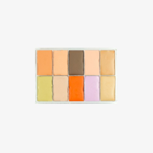 MaqPro Paris 10 Colour Slimline Palette - AB.03