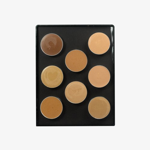 MaqPro Paris Camouflage Foundation Palette