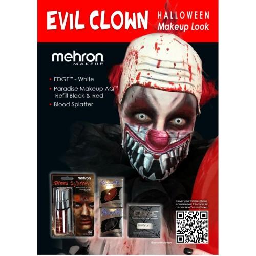 Mehron - Evil Clown Kit