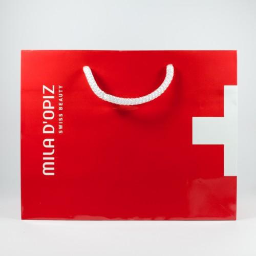 Mila d'Opiz Red Paper Bag
