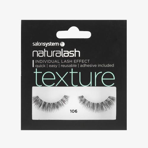 Naturalash Strip Lash (Texture) - No. 106