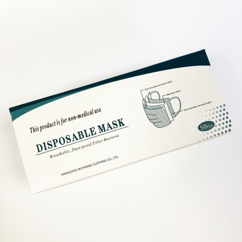 Disposable Face Masks (25 or 50) BFE 95%