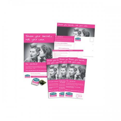 PhD Promotional Postcards
