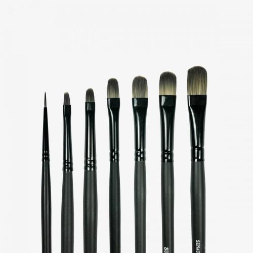 Sunaura Small Badgerlon Brush Set
