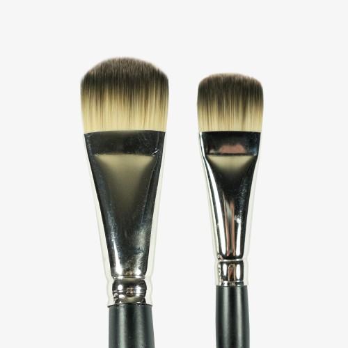 Sunaura Badgerlon Foundation Brush Set (2 Brushes)