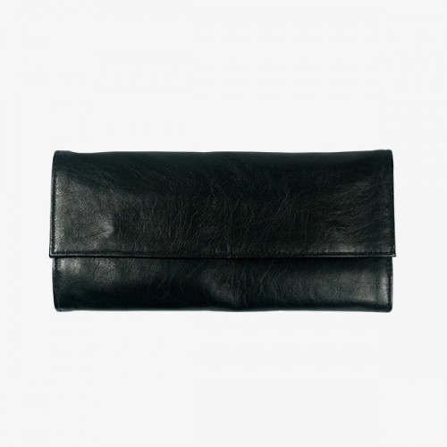Sunaura Empty Black Wallet (holds 12 brushes)