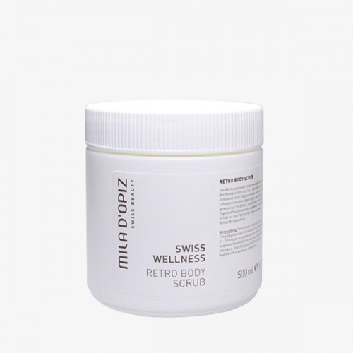 Swiss Wellness Retrp Body Scrub Cream (Professional) - 500ml