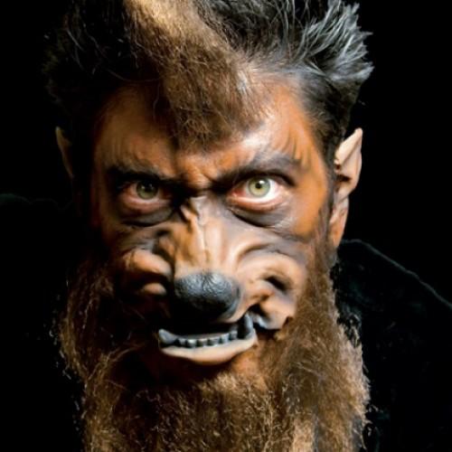 Woochie Werewolf Face Prosthetic